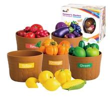 Toys Fruit-Model Simulation Vegetable Plastic Food Baby Children's Puzzle Home-Toy Kindergarten