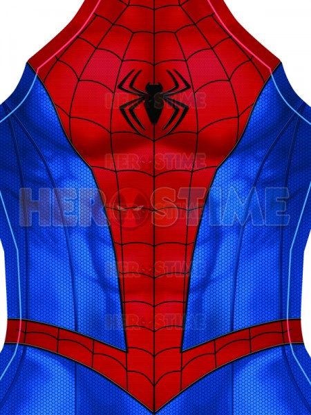 High Quality Spider Man Suit PS4 Classic Spider Man Cosplay Costume Spandex 3D Print Spiderman Zentai
