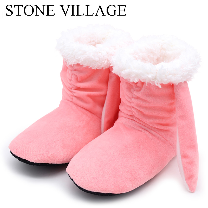 New Winter Plush Slippers Women Home Slippers Fashion Warm Shoes Women Autumn Slippers Home Shoes For Home Shoes Hot Sale
