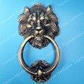117mm Antique Lion single hole doorknocker/ door knob/ door pull