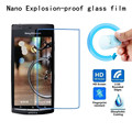 Hight Quality Nano Explosion-proof Soft glass Protective Film for Sony Xperia arc S LT18I Screen Protector