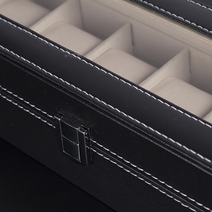 Image 5 - BOBO BIRD PU Leather Display Case Box Watch Jewelry Storage Organizer 6 Slot 10 Slots saat kutusu