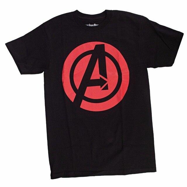 Brand New Summer Avengers Black Widow Logo Symbol T Shirt In T