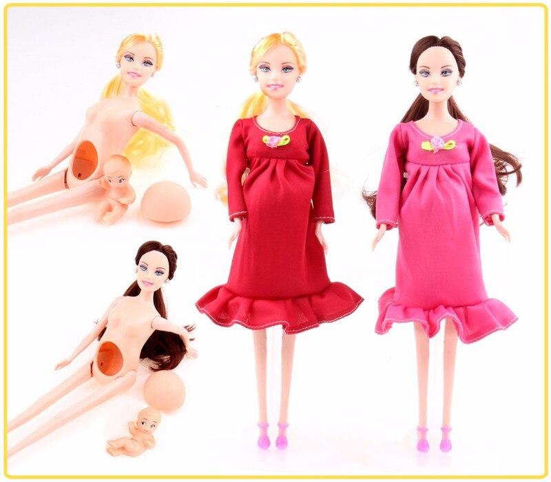 Высококачественные игрушки для девочек, лучший подарок, развивающие костюмы для беременных, кукла для мамы, ребенок в животе для