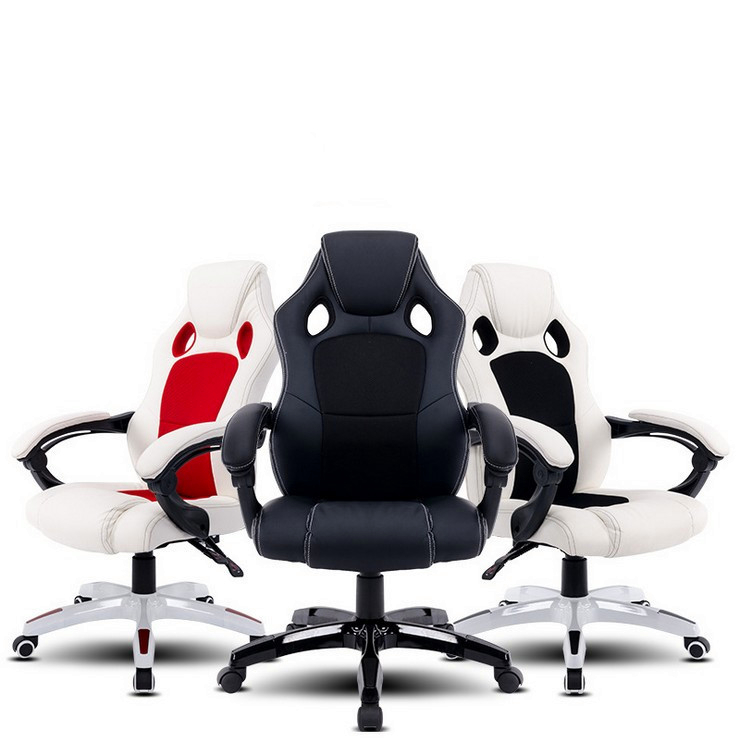 Fashion Soft Office Chair Lifting Lying Computer Chair Breathable Leisure Boss Chair Portable Swivel Gaming Chair