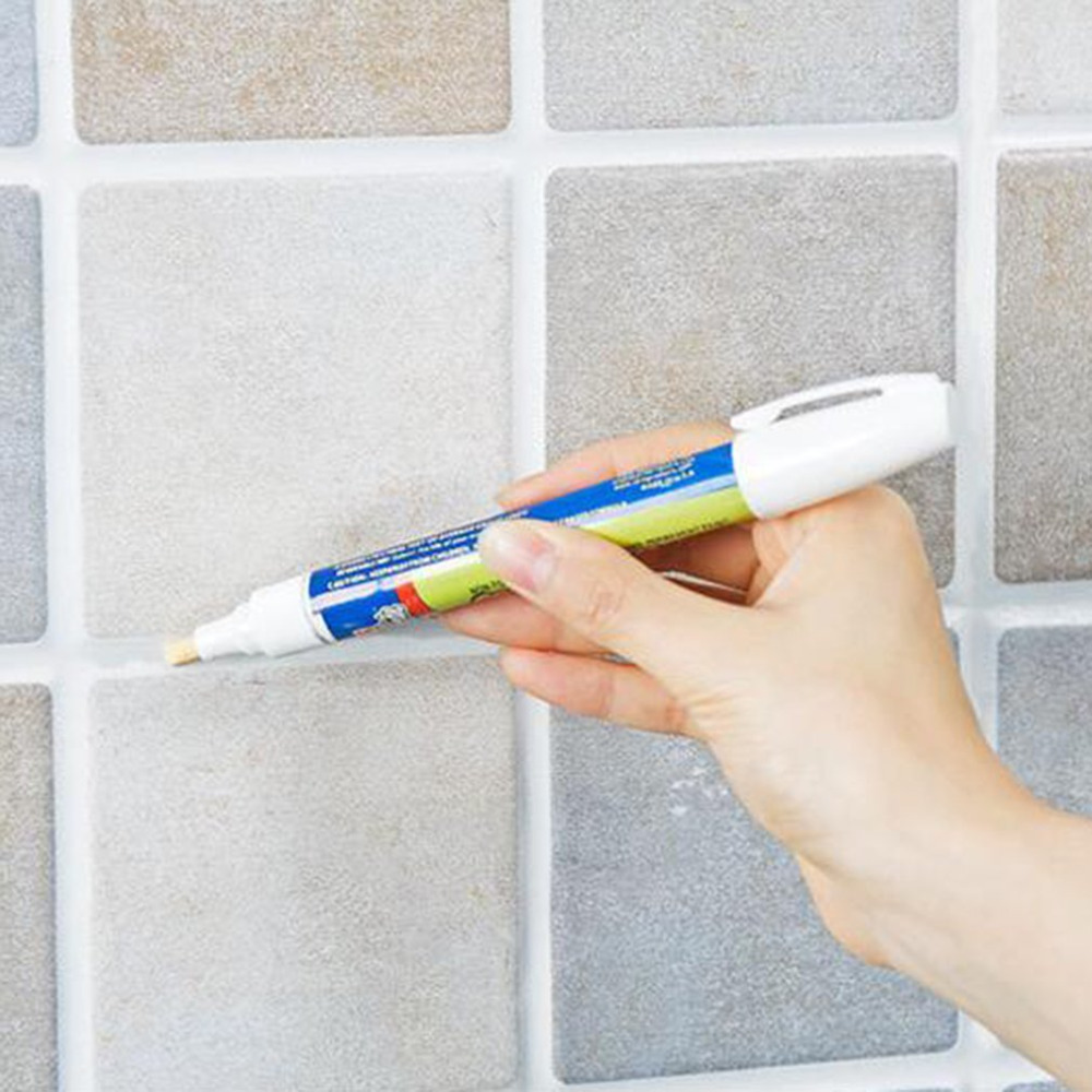 1 Non-toxic Grout Aide Repair Tile Marker Water-resistant Odorless Ceramic Tile Repairing Pen with Reversible Nib Drop Shipping ramsey tile floors – installing maintaining and repairing paper only