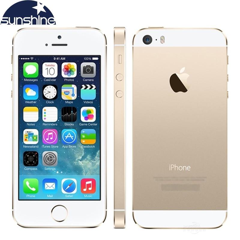 Original Apple Unlocked iPhone 5 S IOS handy 4,0 ''8 MP 16G/32G/64G Dual-core WIFI Smartphone