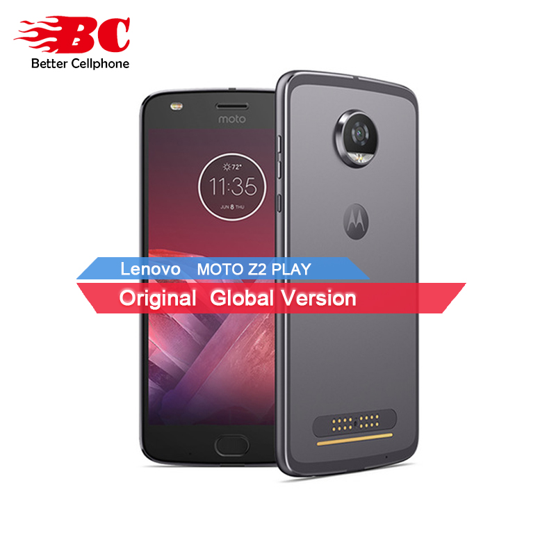 New Motorola MOTO Z2 PLAY xt1710 4GB RAM 64GB ROM 4G LTE 5.5 12MP Octa Core Android7.1 Dual SIM 1920x1080 Mobile Phone Add Mods