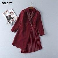 높은 품질의 새로운 브랜드 코트 재킷 비즈니스 여성