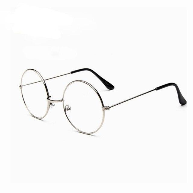 Vintage gafas redondas hombres Harry Potter gafas marco prescripción ...