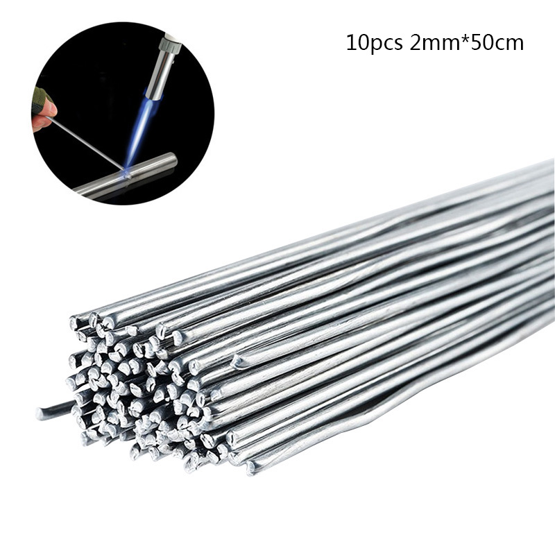 10pcs 2mm*50CM Low Temperature Welding Wire Aluminum