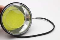 1 Pc TOP Quality CAR Aluminum Round DRL 3 5 Inch COB LED Daytime Running Lights
