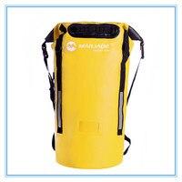 40L водонепроницаемый рюкзак для плавания водонепроницаемая сумка для плавания плавающая лодка рафтинг регулируемый плечевой ремень плава...