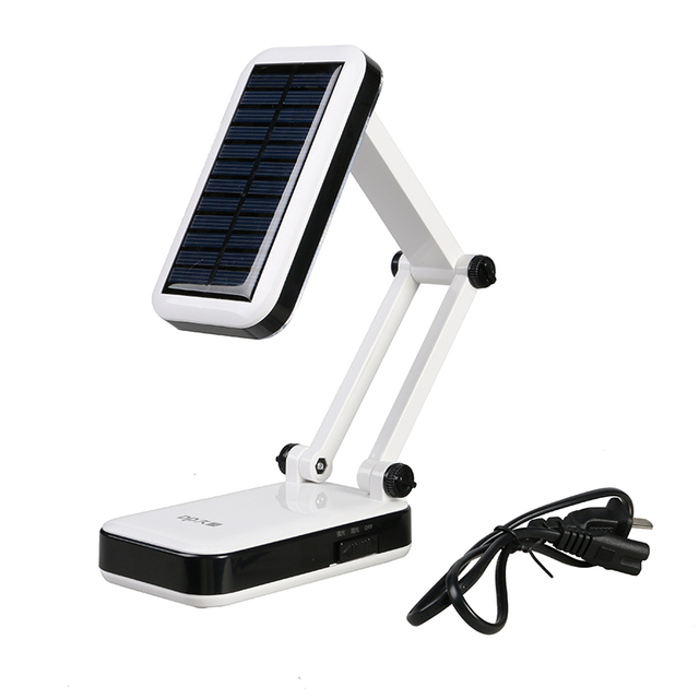666T Modern Foldable Adjustable Desk Lamps Rechargeable led Table Lamp With 24 LED For Bedroom white light Reading Charge lamp