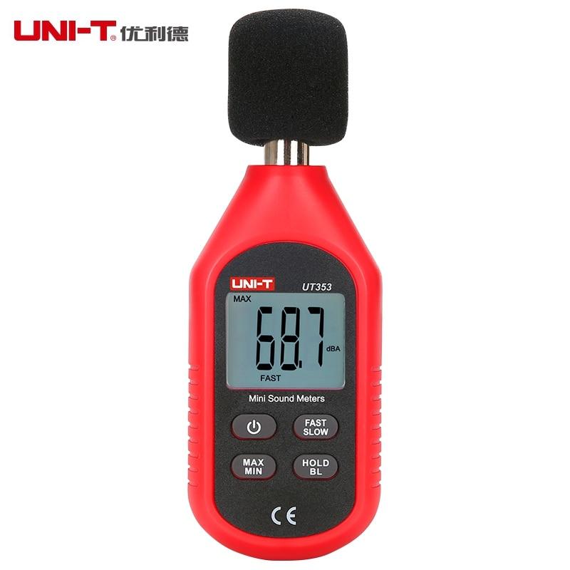 UNI-T UT353 Mini Sound Level Meter 30~130dB Noise Measuring Instrument db Meter Digital Voice Tester Decibel Monitor