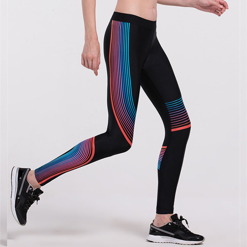 Hot Women Sports Gym Pants Yoga Exercise Black Fitness Leggings Workout Training Clothes For Sliming Shaper Running Clothing E84