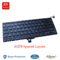 New Spanish Keyboard For Apple Macbook Pro 13'' A1278 Spanish Espain Keyboard