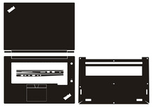 """Computer portatile In fibra di Carbonio Del Vinile Autoadesivo Della Pelle Della Copertura Per Lenovo ThinkPad X1 Extreme/P1 1st/2nd Gen 15.6"""""""
