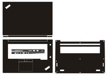 """Housse dautocollant en peau de vinyle pour ordinateur portable en fiber de carbone pour Lenovo ThinkPad X1 Extreme/P1 1st/2nd Gen 15.6"""""""