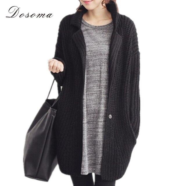knitted cardigan girls 2017 korean style spring casual women long sleeve kimono cardigan women fashion black cardigan female