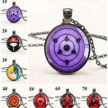 ใหม่ Naruto Sharingan Eye สร้อยคอ Vintage Naruto (China)