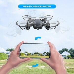 Image 4 - Мини Дрон Eachine E61hw с HD камерой 720P, Радиоуправляемый квадрокоптер с режимом удержания высоты, RTF Wi Fi FPV, складной вертолет, игрушки VS HS210