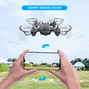 Image 4 - Eachine E61hw Mini Drone With 720P HD Camera Hight Hold Mode RC Quadcopter RTF WiFi FPV Foldable Helicopter Toys VS HS210