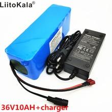 LiitoKala 36 v 10Ah 10S3P 18650 аккумуляторная батарея, модифицированный мотоцикл, батарея для электромобиля зарядное устройство li-lon + 36 V 2A char