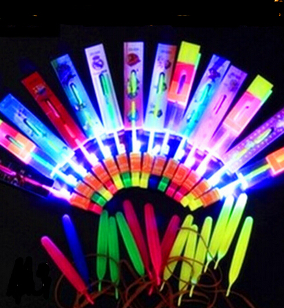 400PCS DHL Amazing Arrow Helicopter Light Up Flying Arrow New Product New Toy Lowest Price Flying