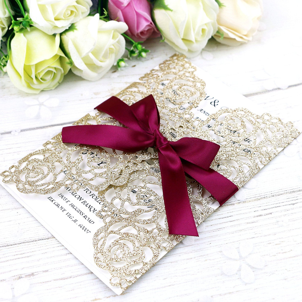 Buy bling wedding invitations and get free shipping on AliExpress.com