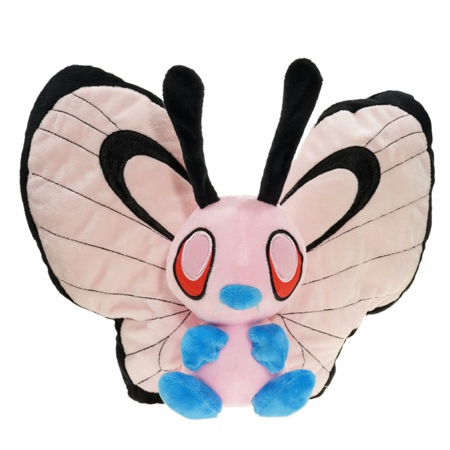12 30cm anime pocket pets butterfree plush stuffed doll toys