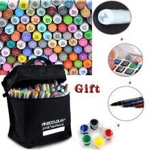 Copic двуглавый дополнительно эскиз маркер искусство профессиональные живопись канцелярские цветов набор
