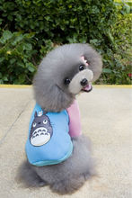 A130 Lovely Winter Pet dog cotton sweater Warm Cartoon Character Winter Vest T-shirt for Puppy Small dog hoodies clothes