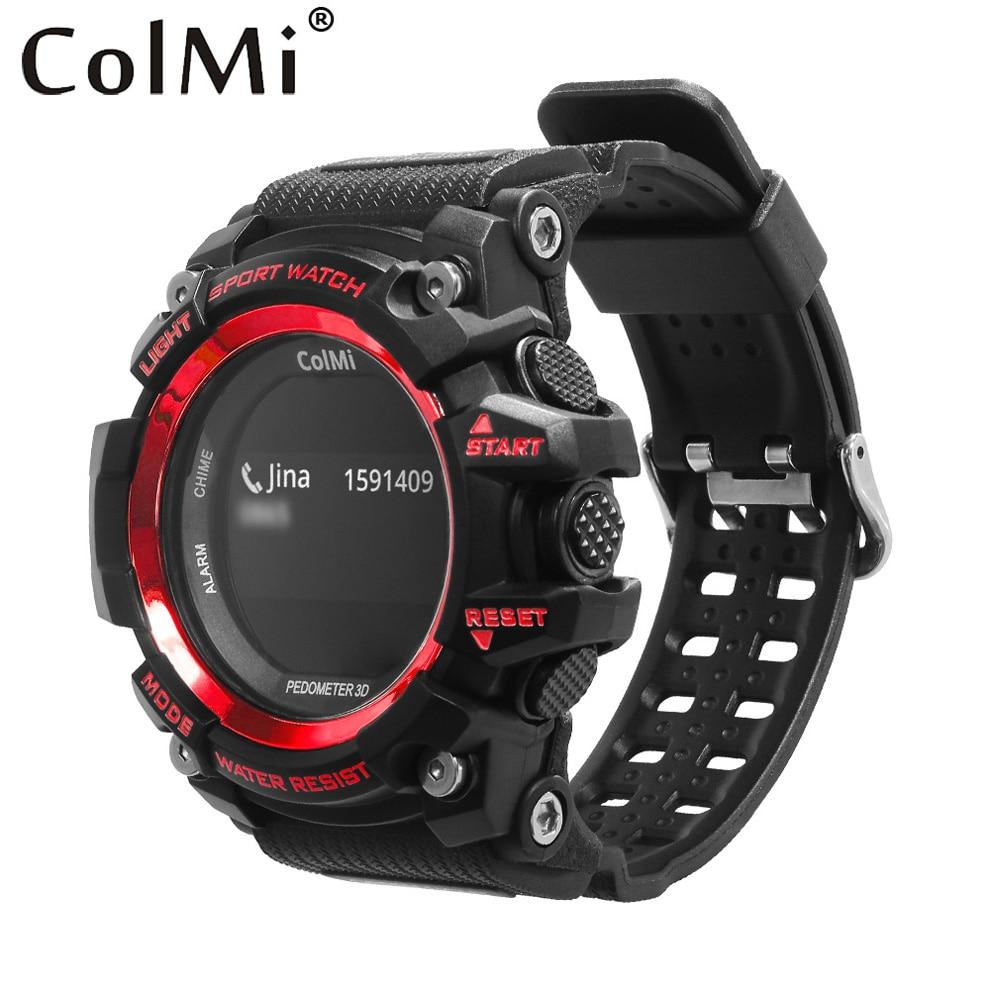 ColMi font b Smart b font Sport Watch T1 OLED Display Heart Rate Monitor IP68 Waterproof