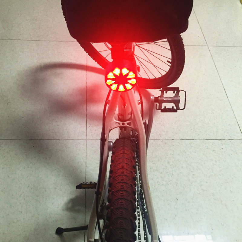 Bike Lights 2 Laser 9 LED Cycling Bicycle Bike Taillight Bicycle Rear Lamp Warning Lamp Flash Alarm Light cycling taillight lamp electrolux zb 5022