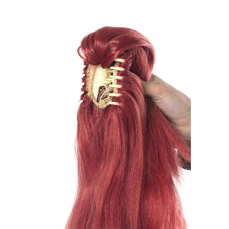 L-email парик LOL KDA Akali, карнавальный костюм, парики, игра Prestige Edition K/DA, Фиолетовый парик для косплея, хвостик, Жаростойкие синтетические волосы