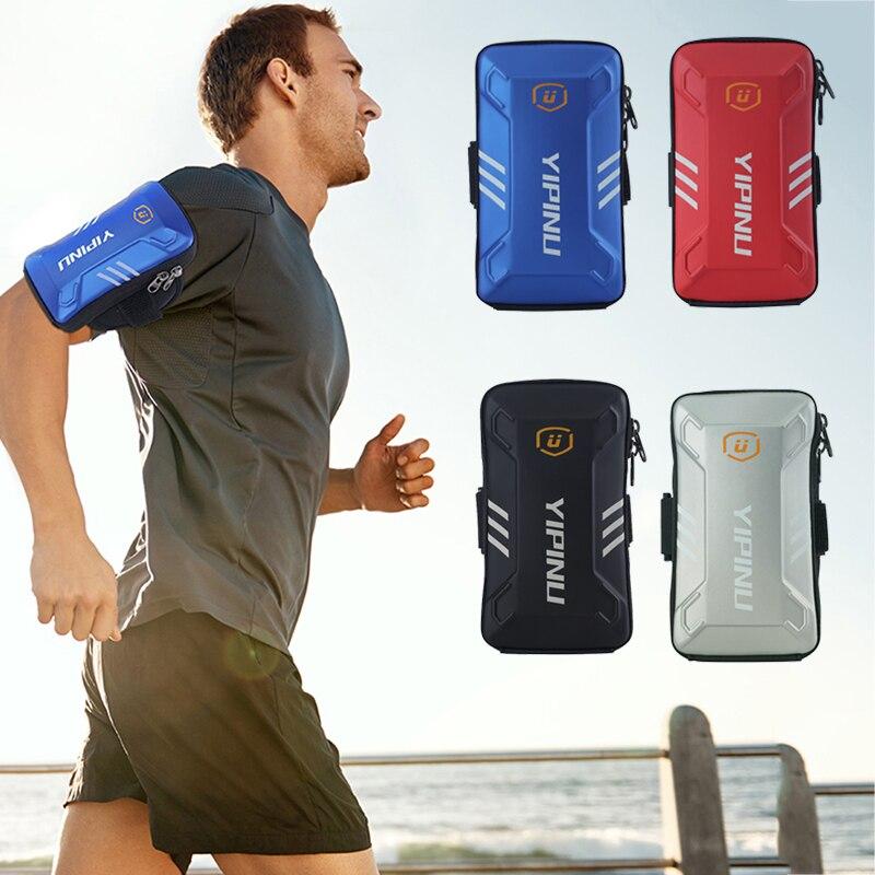 Brazalete a prueba de agua Unisex Casual correr brazo banda funda para 5 a 6 pulgadas Dispositivo de teléfono para todo tipo de actividades deportivas al aire libre