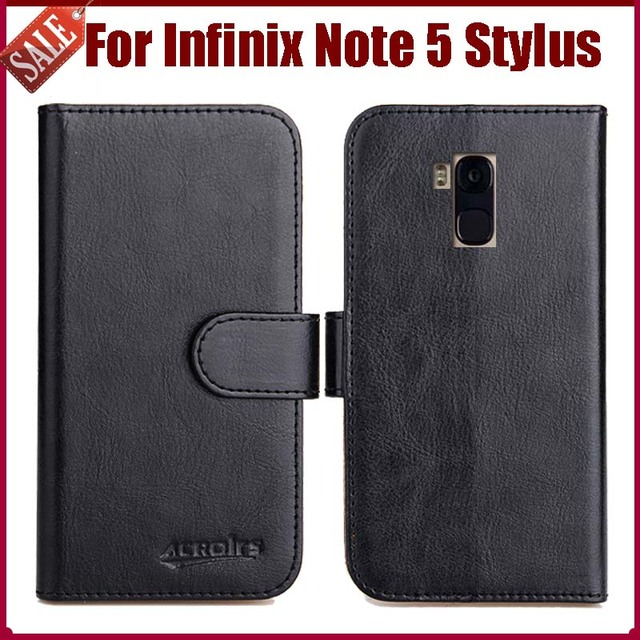 brand new bd562 0f3d0 US $4.59 8% OFF|Hot Sale! Infinix Note 5 Stylus Case New Arrival 6 Colors  High Quality Flip Leather Protective Cover Phone Bag-in Flip Cases from ...