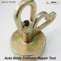 auto body collision repair system equipment frame back machine clamp pulling tightening tool Self Tightening grips sheet metal