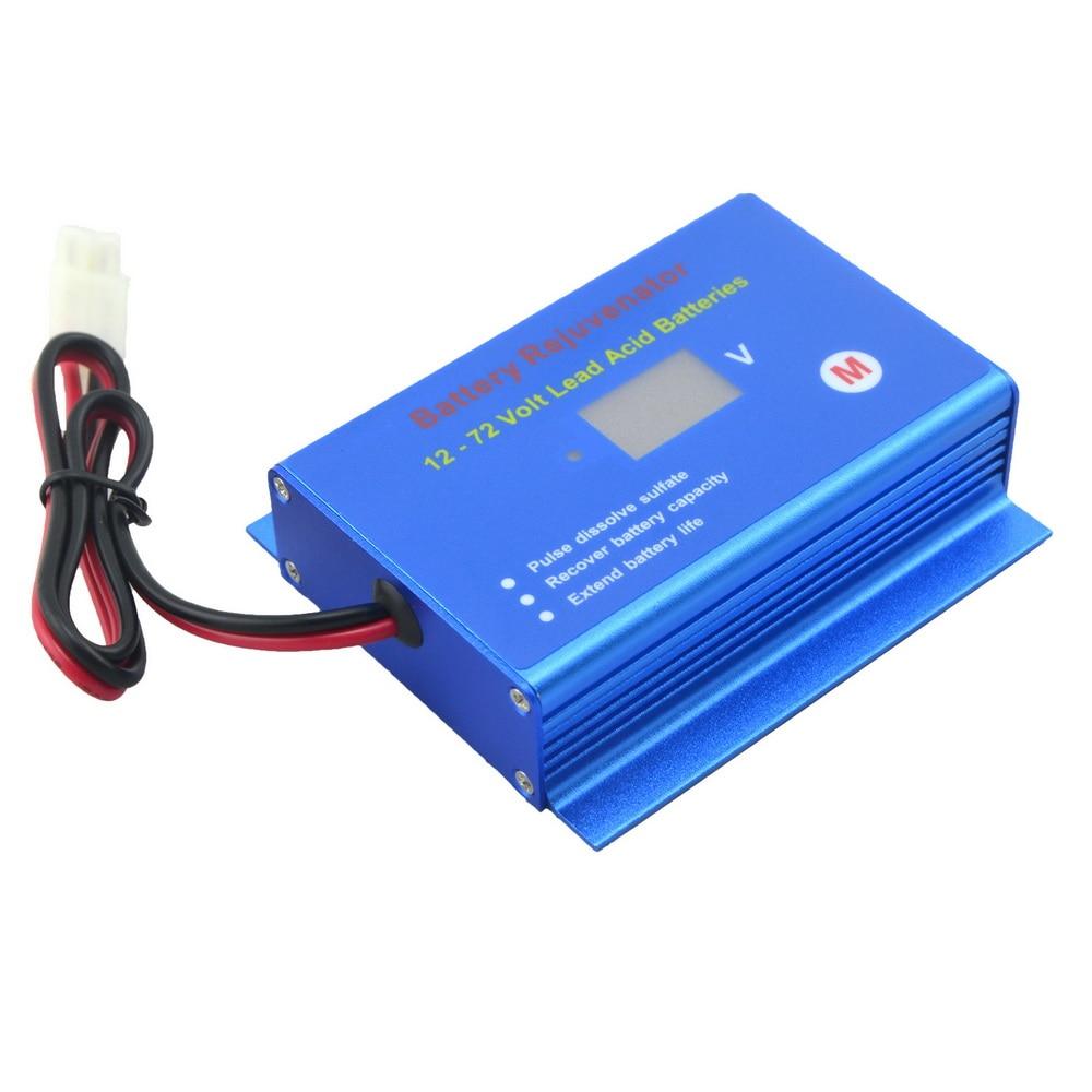 Golf cart buggy forklift battery desulfator desulphator  reconditioner for 12v 24v 36v 48v 60v 72v lead acid batteriesbattery  desulfator desulphatorbattery desulfatoracid battery