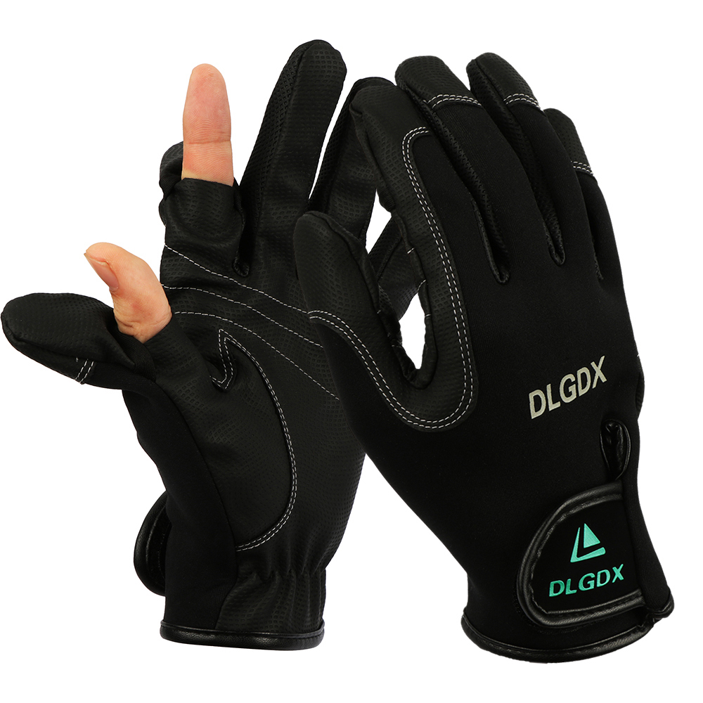 2018 Winter New Outdoor Sports Fly Fishing Gloves Neoprene Surfcasting Luva Pesca Guantes Photography Glove Fish Hunting Gloves