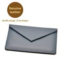 Envelope tablet Bag super slim sleeve pouch cover,Genuine leather tablet sleeve case for Lenovo Miix 510