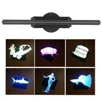 50 см/42 см 3D голографическая WiFi проектор Дисплей вентилятор светодио дный голограмма Игрок Рекламы Свет приложение Управление