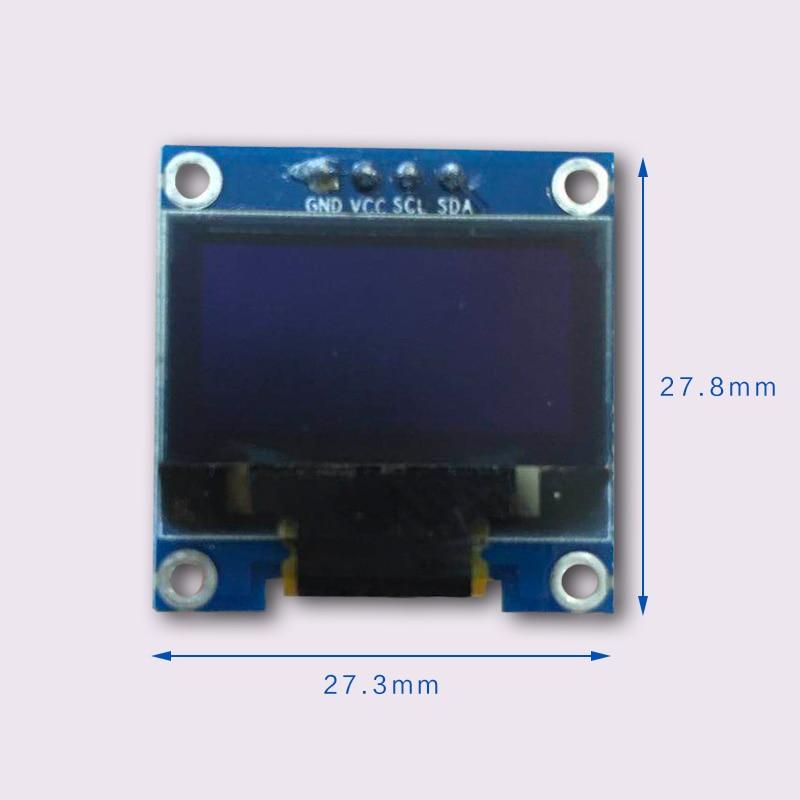 Дюймов 0,96 дюймов OLED дисплей 12864 ЖК-экран модуль IIC интерфейс 12864 модуль обеспечивает схему для Arduino