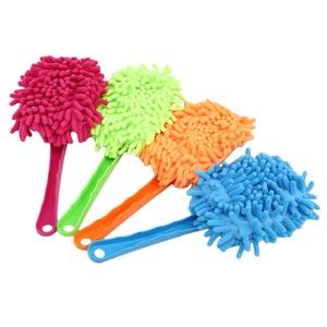 Image 1 - Punho plástico ultrafine pano de limpeza eletrostática adsorção carro poeira limpeza escova ferramentas lavagem do carro