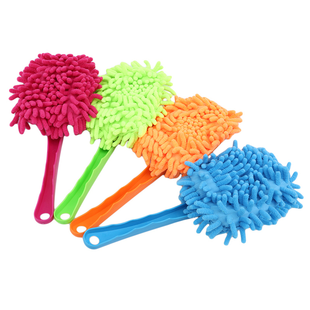 Punho plástico ultrafine pano de limpeza eletrostática adsorção carro poeira limpeza escova ferramentas lavagem do carro