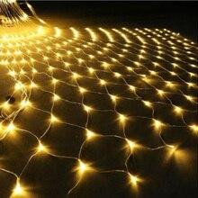 3X2 м/1,5x1,5 м светодиодный гирляндовый свет, Сказочная Мерцающая лампа для дома, сада, Рождества, свадьбы, рождественской елки, вечерние гирлянды для украшения