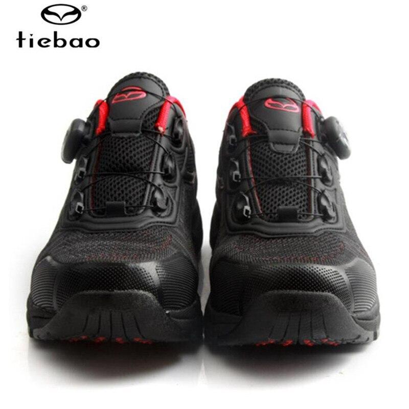 Купить с кэшбэком TIEBAO cycling shoes leisure sapatilha ciclismo mtb men mountain bike shoes self-locking breathable spd pedals Athletic bicycle