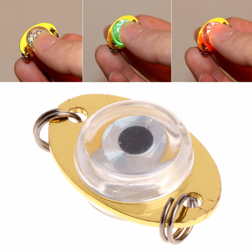 Saltwater Bait Flasher Lamp Underwater Attractant Fishing Lure Light Halibut Offshore Artificial Deep Sea Walleye Freshwater