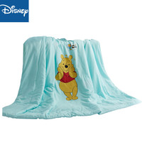 Disney winnie the pooh summer quilt air conditioner comforter for kids bedroom decoration 110x150cm 100% polyester home textile